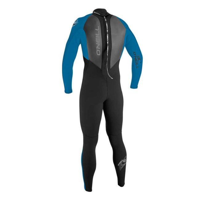 O'neill 3/2mm youth wetsuit blue rear