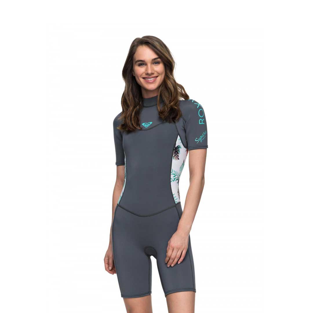 a60685a331a7 Roxy Women's 2/2mm Syncro Back Zip Wetsuit Ash - Coastal Sports